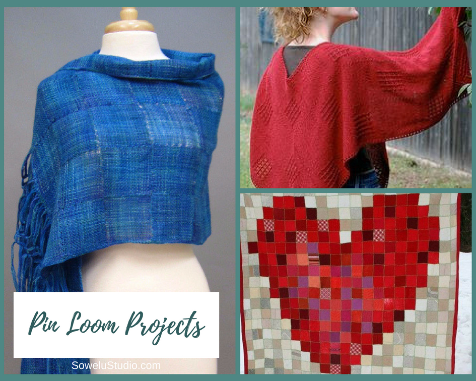 Zoom Loom Weaving ~ A Roundup of Pin Weaving Projects