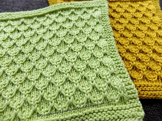 Knitted Washcloth Pattern Roundup - Sowelu Studio